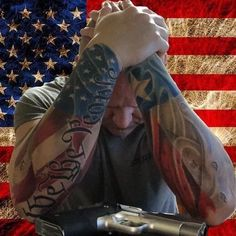 God bless America and God bless all of America's honorable warriors and their loved ones always in all ways. Military Sleeve Tattoo, American Flag Sleeve Tattoo, Military Tattoos, American Tattoos, Harley Tattoos, Badass Tattoos, Life Tattoos, Body Art Tattoos, Tatoos