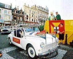Blog de saintchristophe :Bénédiction des voitures Saint Christophe Tourcoing 59200, Peugeot 203 'Tour de France' 1954