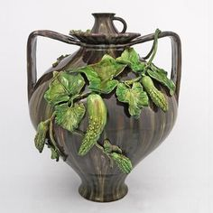 Vaso original Bordallo Pinheiro / Reprodução