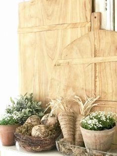 Burlap Carrots DIY {Spring Farmhouse Mantel Decor}