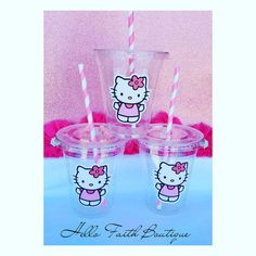 Set of 24 Hello Kitty Party Cups Hello Kitty by HelloFaith                                                                                                                                                                                 More