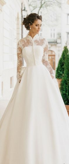 milla nova 2016 bridal wedding dresses / http://www.deerpearlflowers.com/milla-nova-wedding-dresses/8/ #wedding gowns #Wedding Inspirasi#weddingdress #bridal #ウエディングドレス#ブライダル