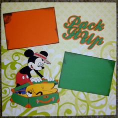 Reddy's Ramblings saved in Disney SVG's as Mickey Packing