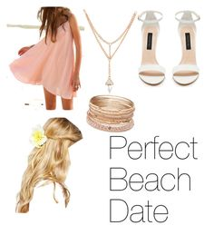 """""""Perfect Beach Date"""" by mvictasia ❤ liked on Polyvore featuring ASOS, Red Camel, beach and summerdate"""