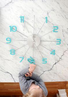 Nalle's House: DIY Mid-Century Modern Ball Clock
