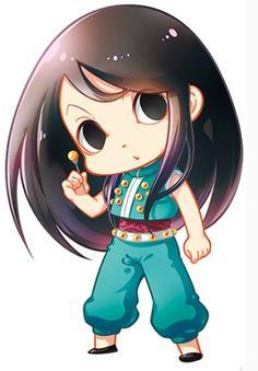 Illumi Zoldyck ~ HunterXHunter ~ Hunter x Hunter ~ HxH ~ Zoldyck Family ~ Anime ~ Chibi