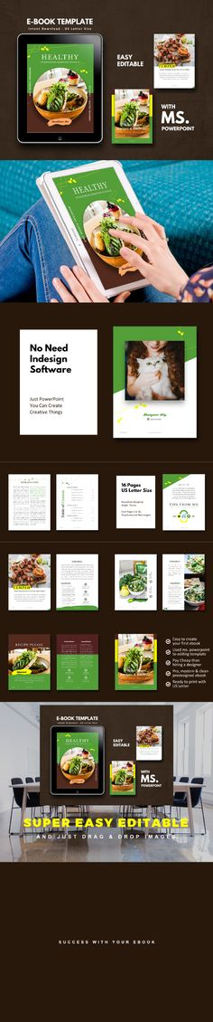 Buy Vegetarian Recipe eBook Template by rivatfauziandteams on GraphicRiver. ★ Get 9 bundle Items sheets ebook design template off discount (life time updates!