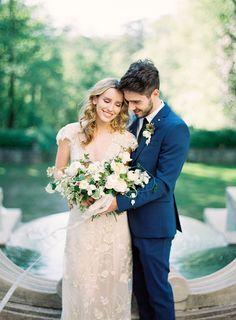 Elegant French Inspired Wedding