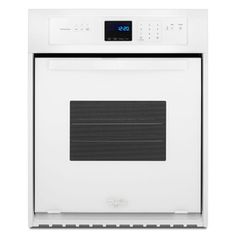 Whirlpool Single Electric Wall Oven (White) (Common: 24-In; Actual 23.