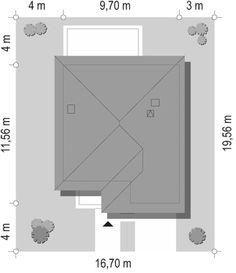 Projekt domu Tytan - 134.26 m2 - koszt budowy 135 tys. zł Construction, Model, House, Building, Pattern, Models, Template
