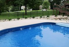 Fence Consultants of West Michigan provides and installs almost every type of maintenence free fence and railing products. How To Wear Ankle Boots, Aluminum Fence, Pool Fence, Michigan, Swimming Pools, Black Fence, Yard, Outdoor Decor, Pools