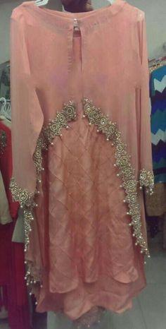 Pakistani Dresses Casual, Pakistani Dress Design, Indian Dresses, Indian Outfits, Casual Dresses, Fashion Dresses, Stylish Dresses For Girls, Stylish Dress Designs, Designs For Dresses