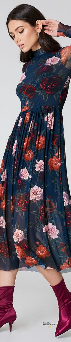 Fashion 2020, Fashion Trends, Welcome Spring, Floral Fashion, Dress Outfits, Dresses, Floral Lace, Florals, Spring Summer