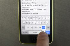 Secrets of the iOS 7 keyboard