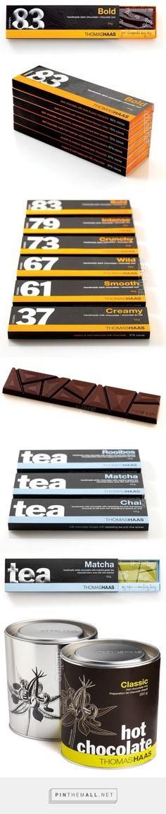 Thomas Haas Chocolate Designed by Bricault Design — The Dieline - Branding & Packaging