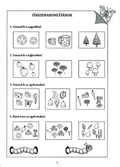 Albumarchívum Kindergarten Worksheets, Preschool Activities, Prep School, Hush Hush, Pediatrics, Kids Learning, Crafts For Kids, Archive, Projects