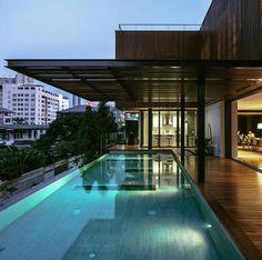 Joly House by Studio D & O Architects, Bangkok.