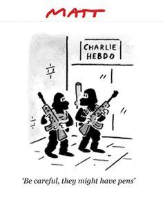 MATT (TELEGRAPH) #Charlie Hebdo
