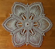 """from the book """"Exquisite Doilies"""" by Patricia Kristoffersen - a set on Flickr - photos and completed doilies by Elaine Pawelko"""