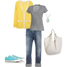 casual spring - cute and bright