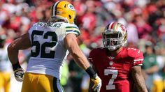 San Francisco 49ers Colin Kaepernick, Green Bay Packers Clay Matthews
