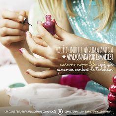 Você ama esmaltes? Então venha nos conhecer ♥ www.esmalteriaclub.com.br