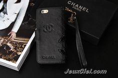 Luxe coque/housse/étui Chanel pour iphone 6 /iphone 6 plus en cuir élégante et luxe achat sur jeuxciel.fr
