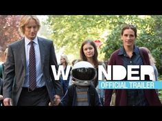 WONDER Official Trailer - - Starring Julia Roberts, Owen Wilson, Jacob Tremblay, Mandy Patinkin, and Daveed Diggs. Based on the best-selling novel by RJ Palacio. In theaters November Owen Wilson, Julia Roberts, Toy Story 3, Hd Movies, Movie Tv, New Movies In Theaters, Dramas, Challenges Funny, Movies Coming Soon