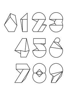 Numerografía #35 - Yorokobu by Rafa Goicoechea, via Behance