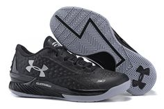 """UA CURRY ONE LOW """"TWO-A-DAYS"""" COLOR: BLACK/STEALTH GREY-METALLIC SILVER RELEASE DATE: 08/01/15 PRICE: $110 @LaceMeUpNews"""
