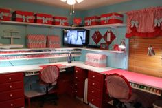 sewing room inspiration