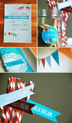 Free printable kid's party invites and decorations