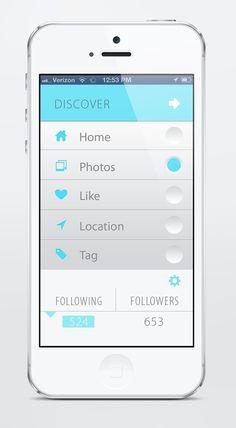 UX UI Mobile app design