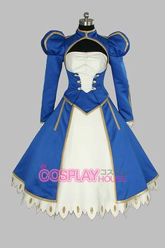 Fate Stay Night -- Saber Cosplay Costume Version 06