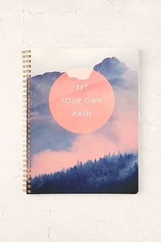 Set Your Own Path Notebook