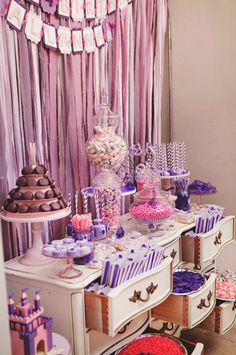 Sofia the First themed birthday party via Kara's Party Ideas KarasPartyIdeas.com Printables, cake, favors, banners, food, and more! #sofiathefirst #sofiathefirstparty #princessparty