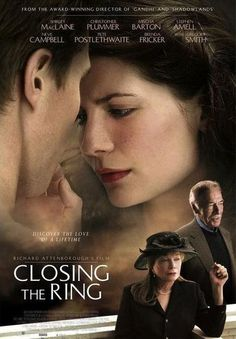 Closing the Ring is a film directed by Richard Attenborough and starring Shirley MacLaine, Christopher Plummer, Mischa Barton, Stephen Amell, Neve Campbell, Pete Postlethwaite, and Brenda Fricker.