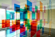 Gallery of Mies van der Rohe's McCormick House Transformed by Color Installation - 14