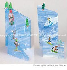 Winter Crafts For Kids Winter Art Projects, Winter Project, Winter Crafts For Kids, Winter Kids, Art For Kids, Winter Thema, Classe D'art, Josi, 4th Grade Art