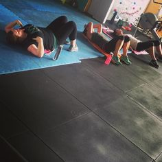 I think we might have broken them with this mornings ladder session...the fact that they have been laying on the floor for 5 minutes and not talking to me makes me think it was a good session  #brisbane#pt#enoggera#gym#crossfit#functional#fitness