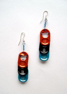 Can tab Earrings. $10.00, via Etsy.