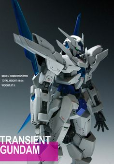 GUNDAM GUY: HGBF 1/144 Transient Gundam - Customized Build