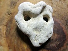 Natural Holey Hole Witch Protect Big Stone Rock Healing Magic Fairy Organic Luck