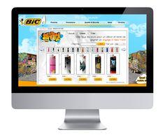 Design on Fire website