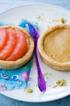 Earl Grey and Pink Grapefruit Tart @Jen Laceda | Tartine and Apron Strings