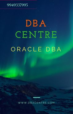 ORACLE DBA training in hyderabad