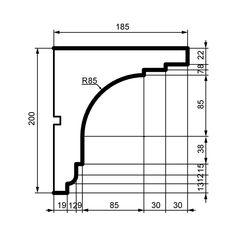 House Ceiling Design, Ceiling Light Design, Molding Ceiling, Moulding, Cornice Design, Civil Engineering Design, Classic House Design, Architectural Design House Plans, Container Architecture