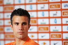 Robin van Persie speaks to the media during the Netherlands Press Conference at the 2014 FIFA World Cup Brazil held at the Estadio Jose Bastos Padilha Gavea on June 20, 2014 in Rio de Janeiro, Brazil.