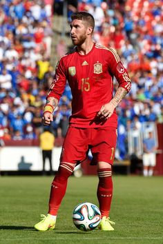 Sergio Ramos an important influence on me ! A unique central back who have great skills