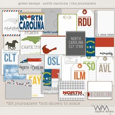 Great Escape - North Carolina - Journalers